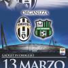 Locandina Juventus-Sassuolo