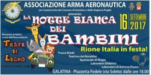 Locandina_La notte bianca dei Bambini – Rione Italia in festa_2017